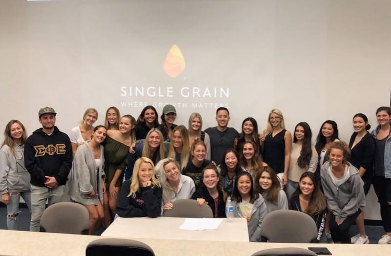 Single Grain Keynote at Pepperdine University