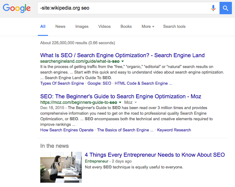 Google Like a Pro: 42 of the Most Useful Search Tricks