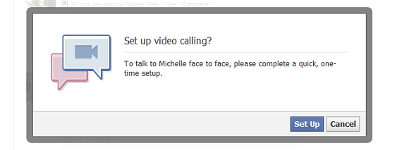 Facebook Video Call Setup