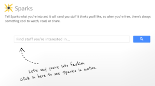 Google+ Sparks Features