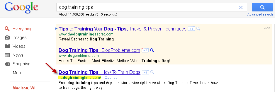 Reverse Engineer Google Keyword Results, Pt I