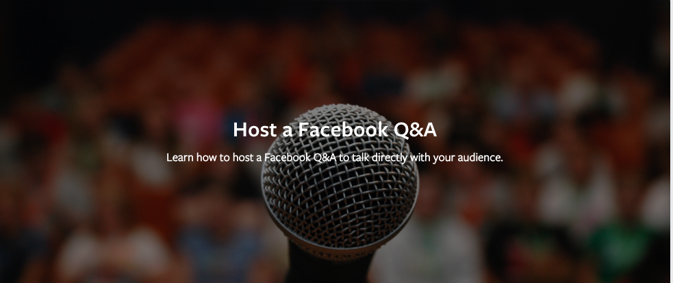 Facebook Q&A