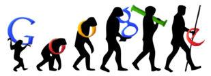 Evolution of Google