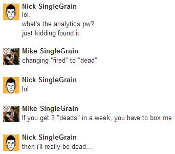 My Single Grain Internship Experience
