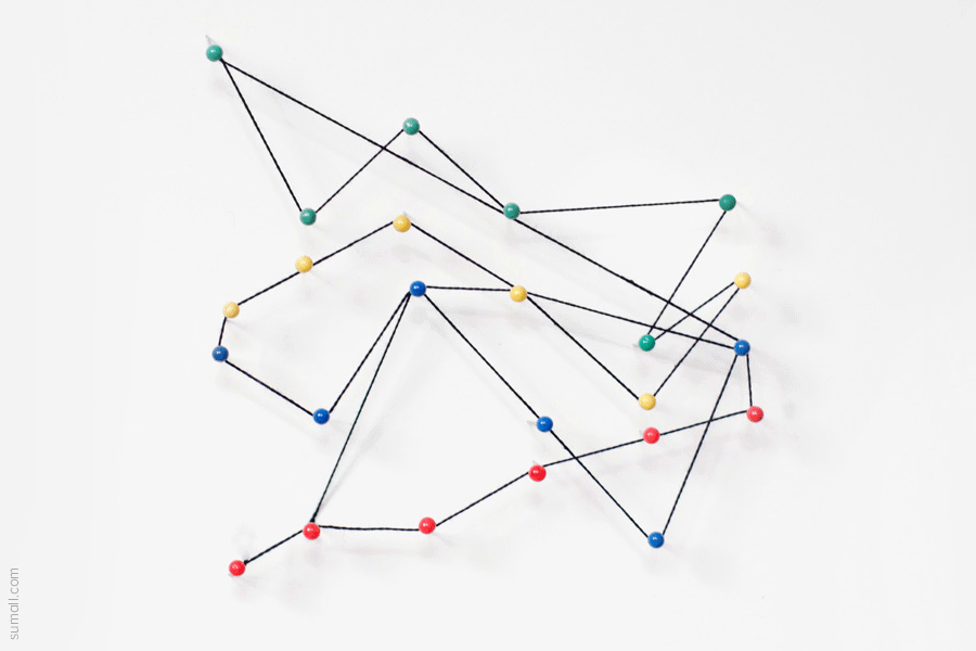pin and string graphs