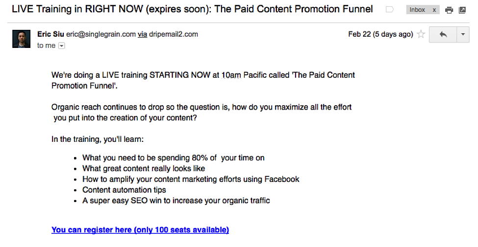 9 Emails to Add to Your Conversion Funnel2