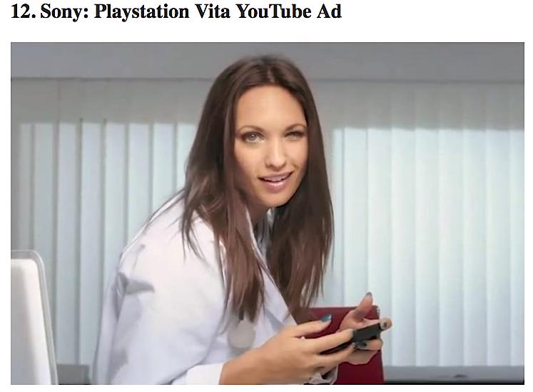 Sony YouTube video