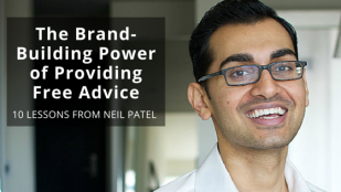 The brand building power of providing free advice