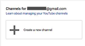 YouTube Channels