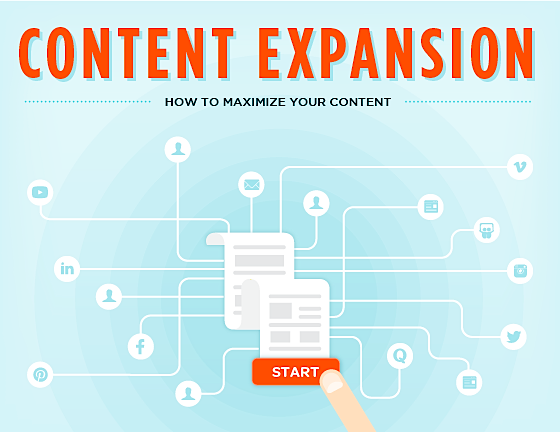 content expansion growth everywhere single grain