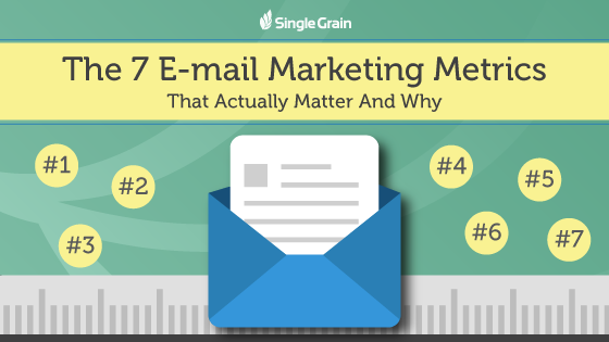 The 7 E-mail Marketing Metrics that Actually Matter and Why