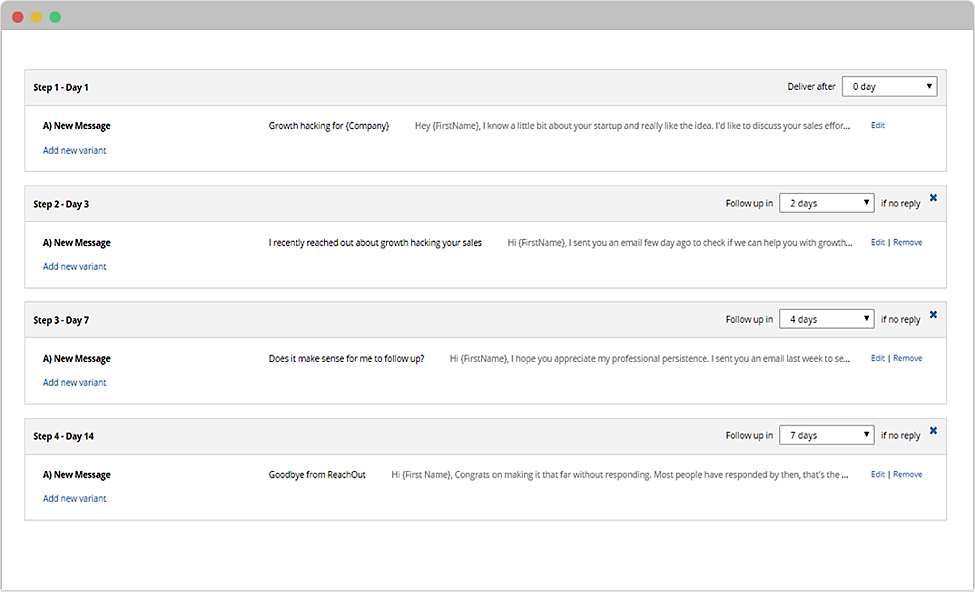 outbound sales automation tool reply cold email leads