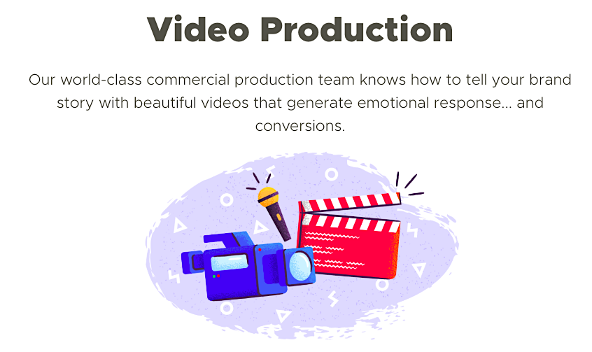 Single Grain video production service