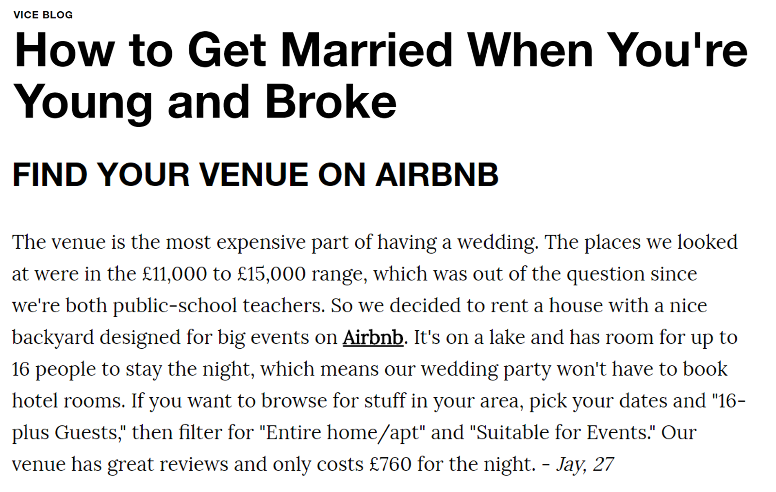 Airbnb Vice backlink
