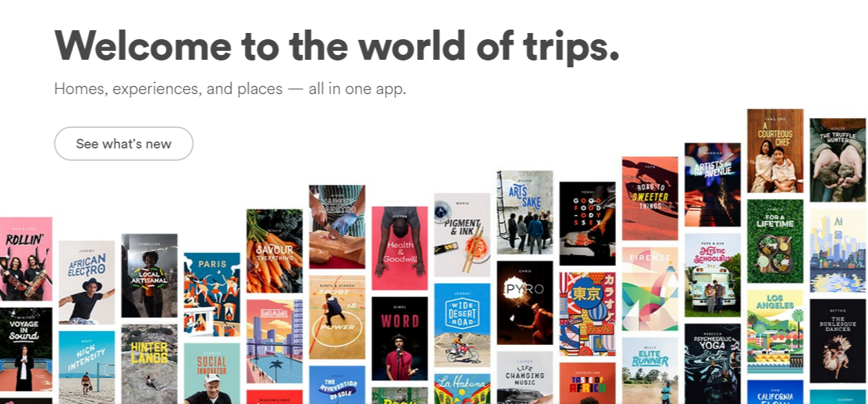 Airbnb Landing Page Screenshot