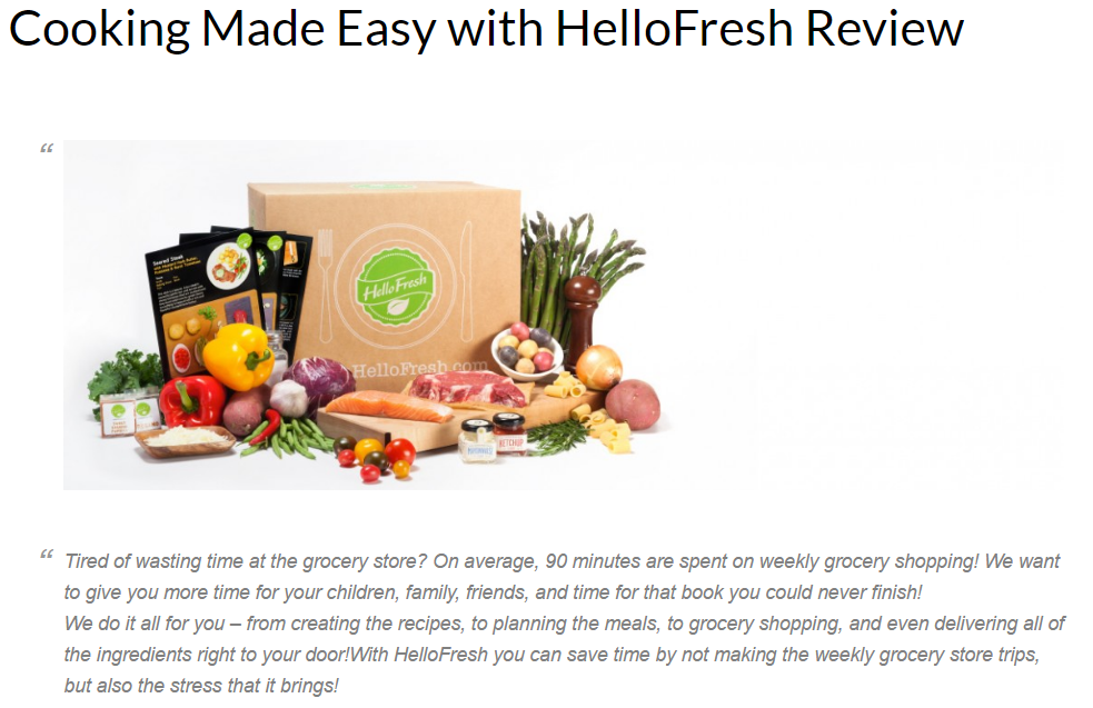 7 HelloFresh Mommy Blogger Link