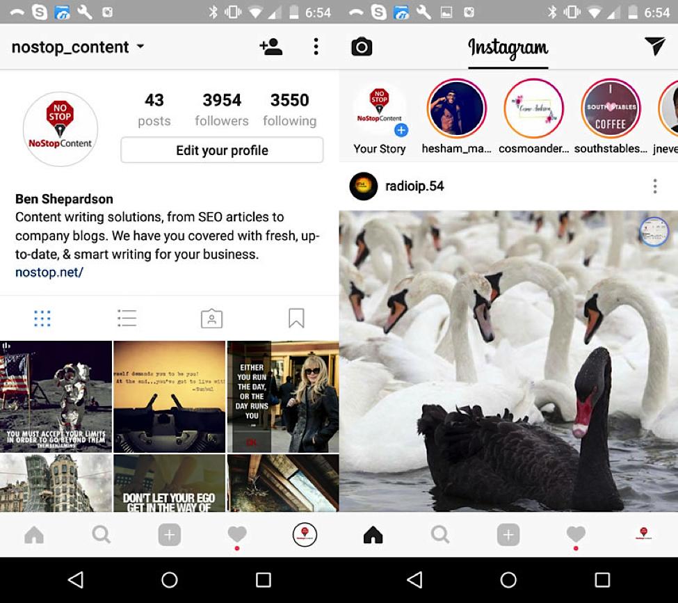 Instagram Stories(4)