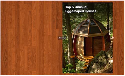 Top 5 Unusual Egg-Shaped Houses