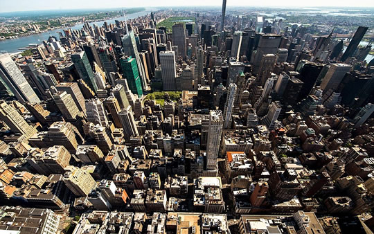 Empire building, New York