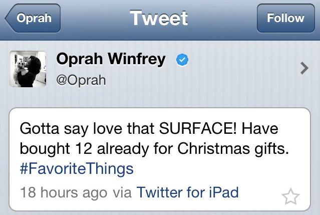 oprah-surface-tweet