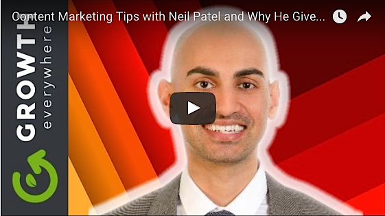Growth Everywhere Neil Patel interview free content