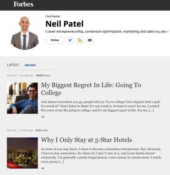 Neil Patel Forbes