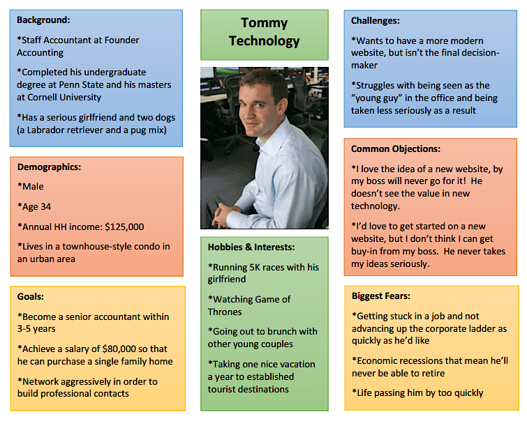 tommy-technology-buyer-persona