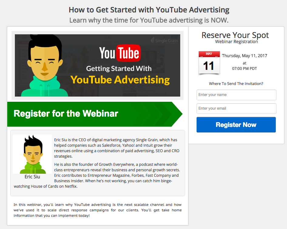 How to Get Started with YouTube Advertising - Webinar