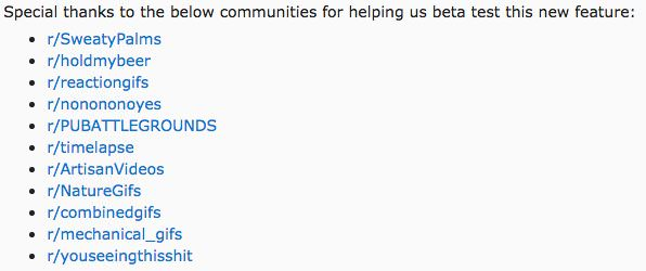 Reddit Has Officially Launched Its Video-Hosting Feature