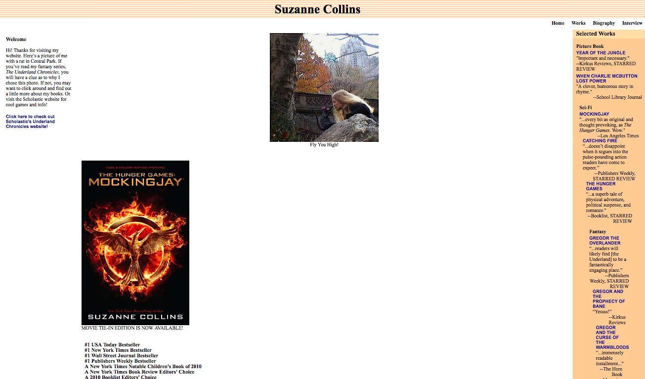Suzanne Collins Books