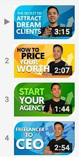 Growth Everywhere YouTube thumbnails