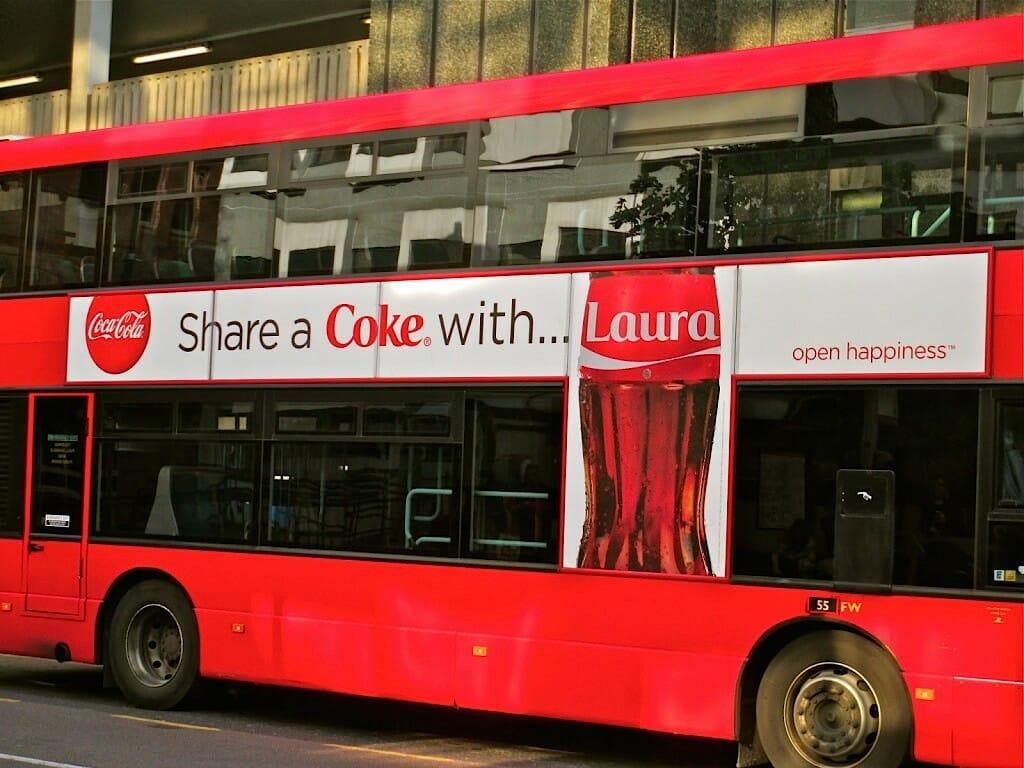 Share a Coke - personalization