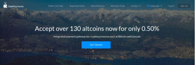 CoinPayments Cryptocurrency blockchain altcoins