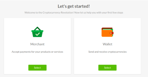 CoinPayments step2