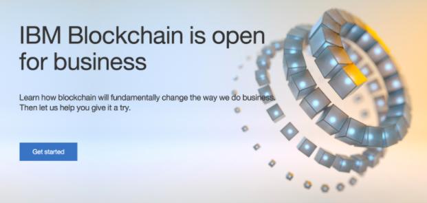IBM blockchain initiatves