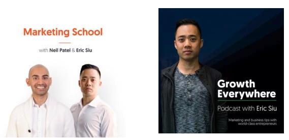 Eric Siu Podcasts