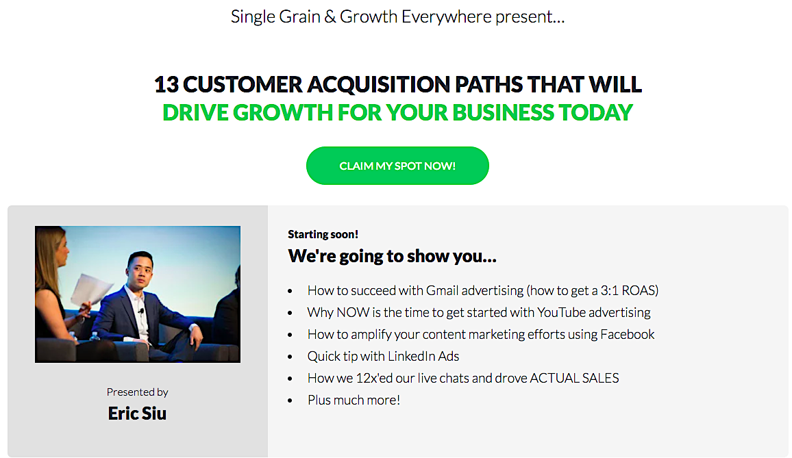 Single Grain Growth Everywhere webinar