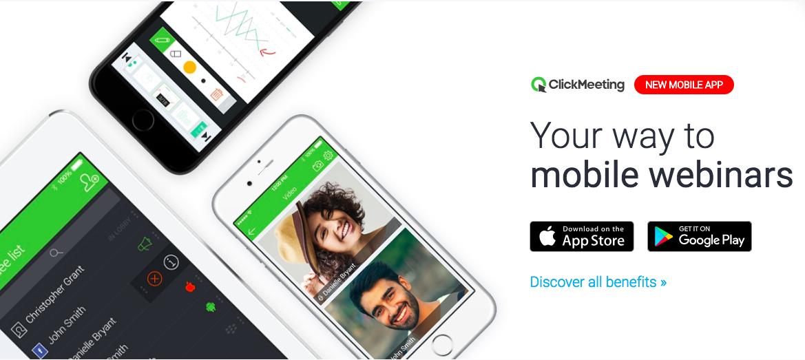 ClickMeeting webinars