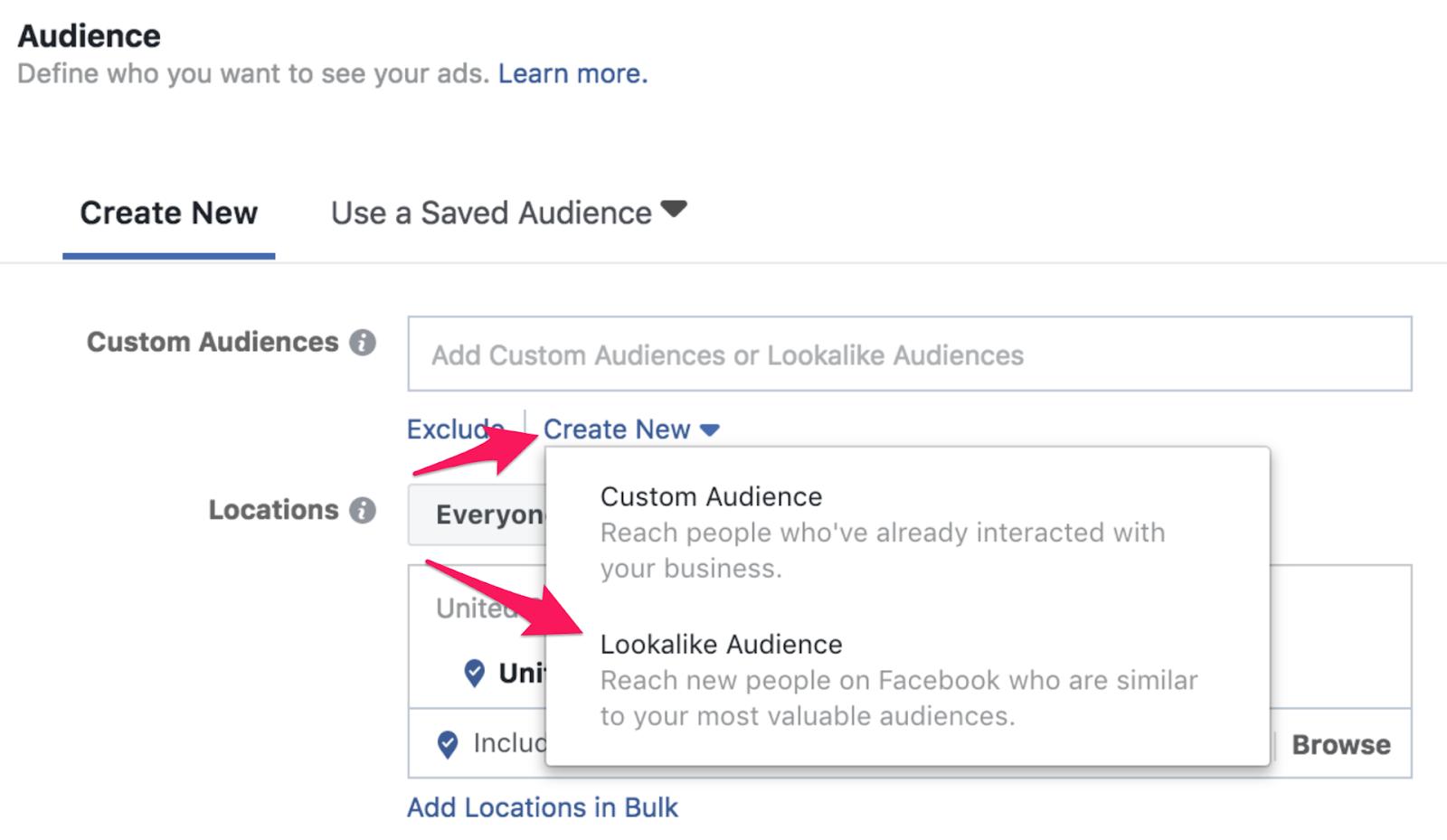 21 facebook lookalike audience