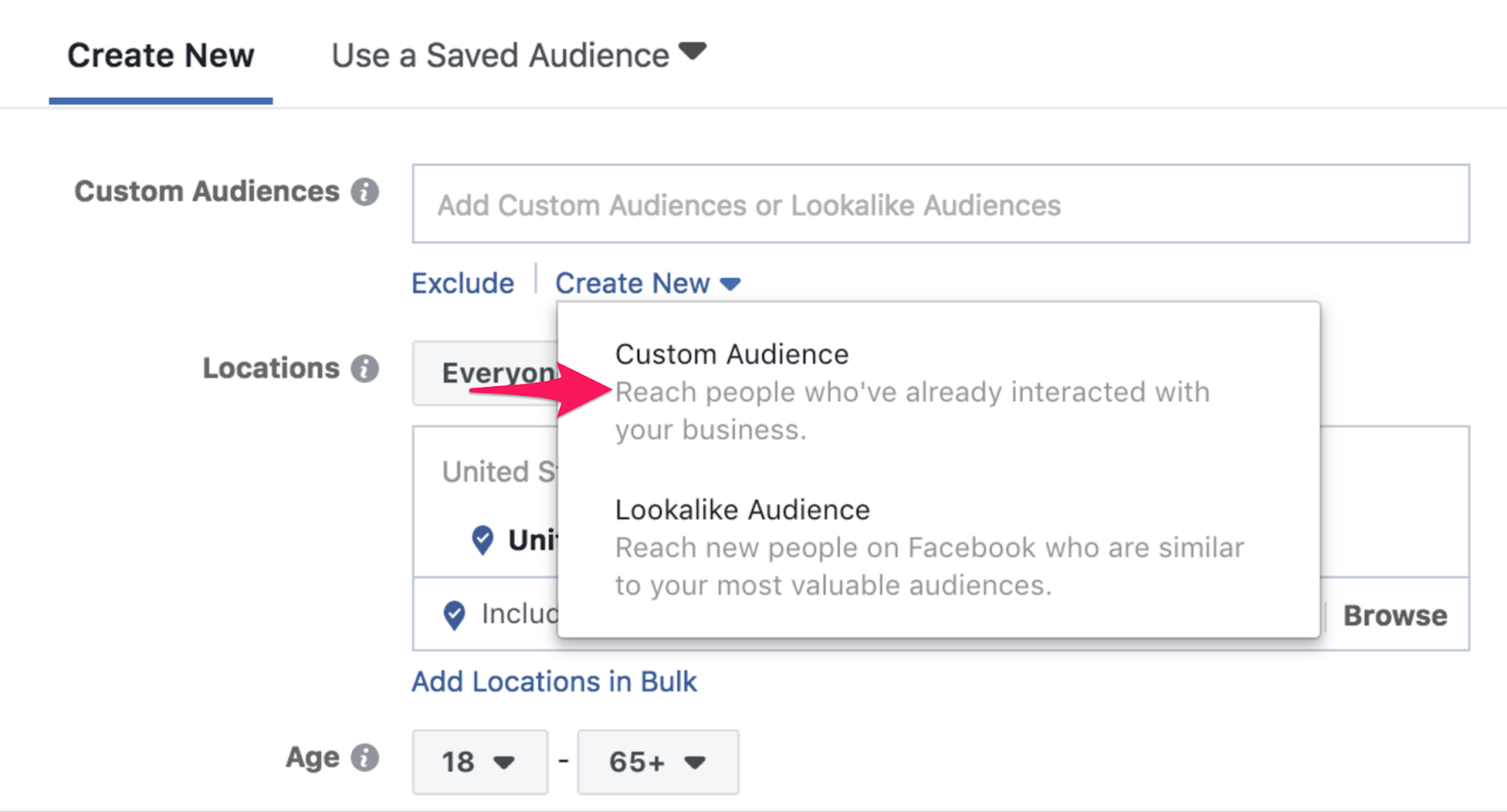 26 facebook audience