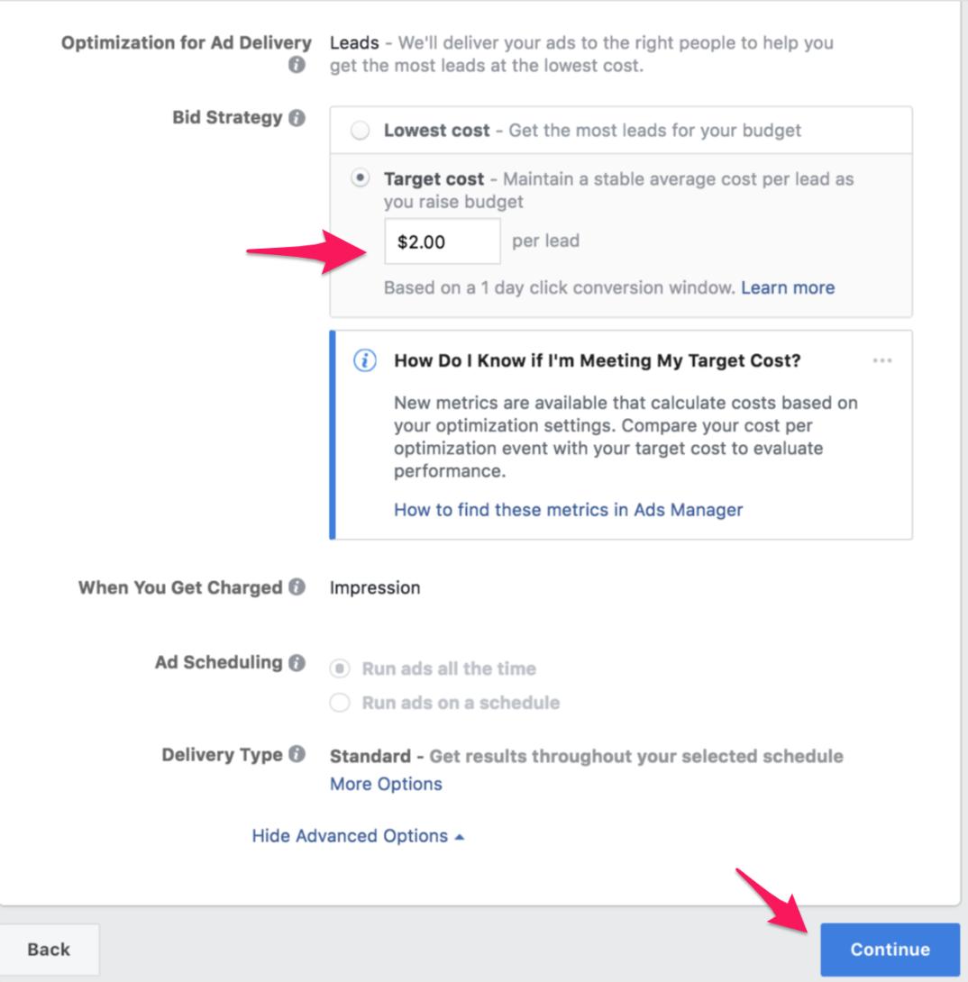 29 facebook lead cost