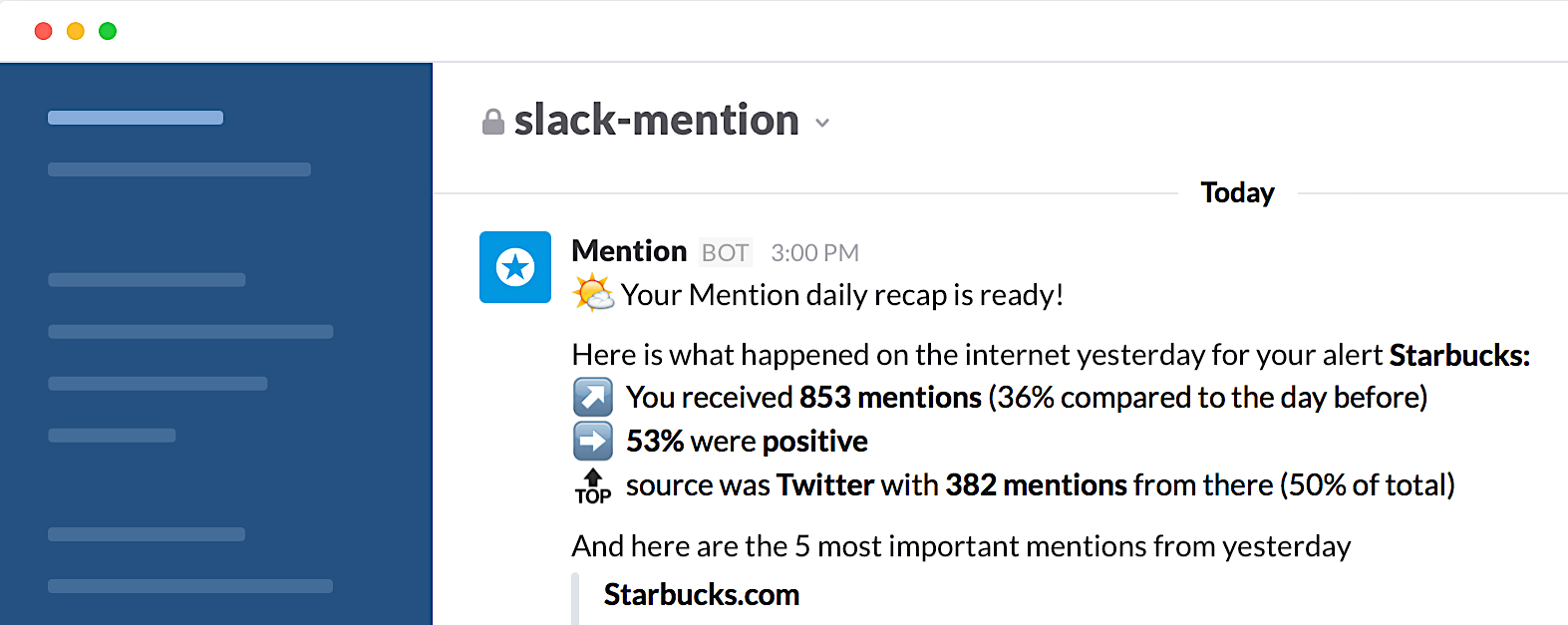 Slack + Mention