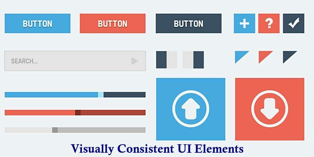 Visually Consistent UI Elements