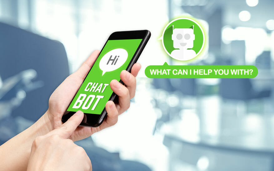 chatbot and customer
