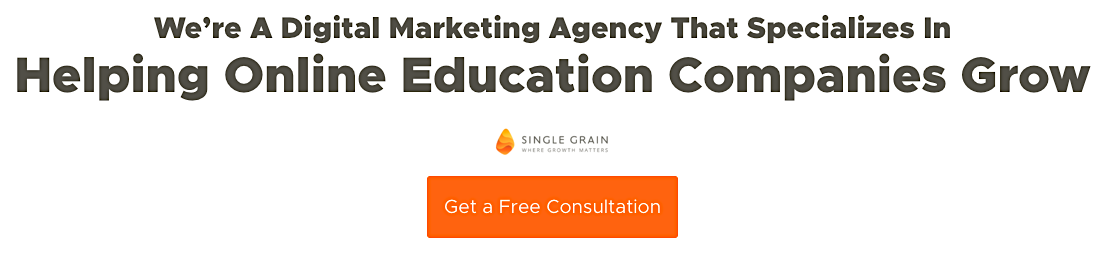 Single Grain Online Education