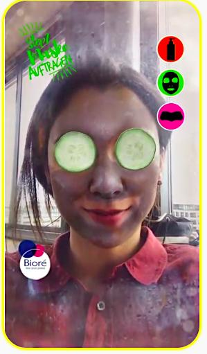 Snapchat Biore