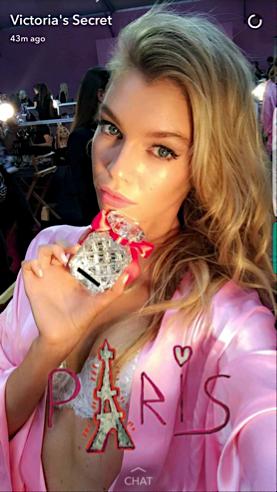 Snapchat Victoria's Secret