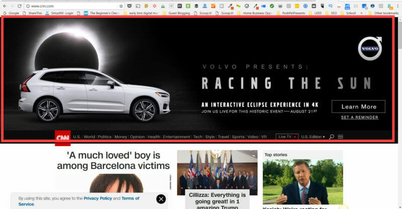 cnn-pop-up-ad no way to close it