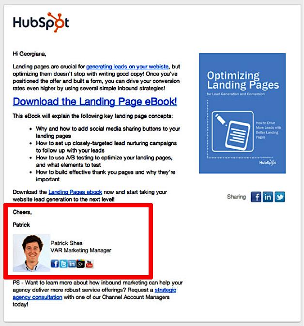 hubspot personalization