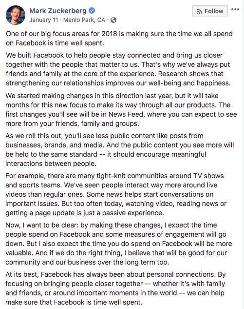 FB statement